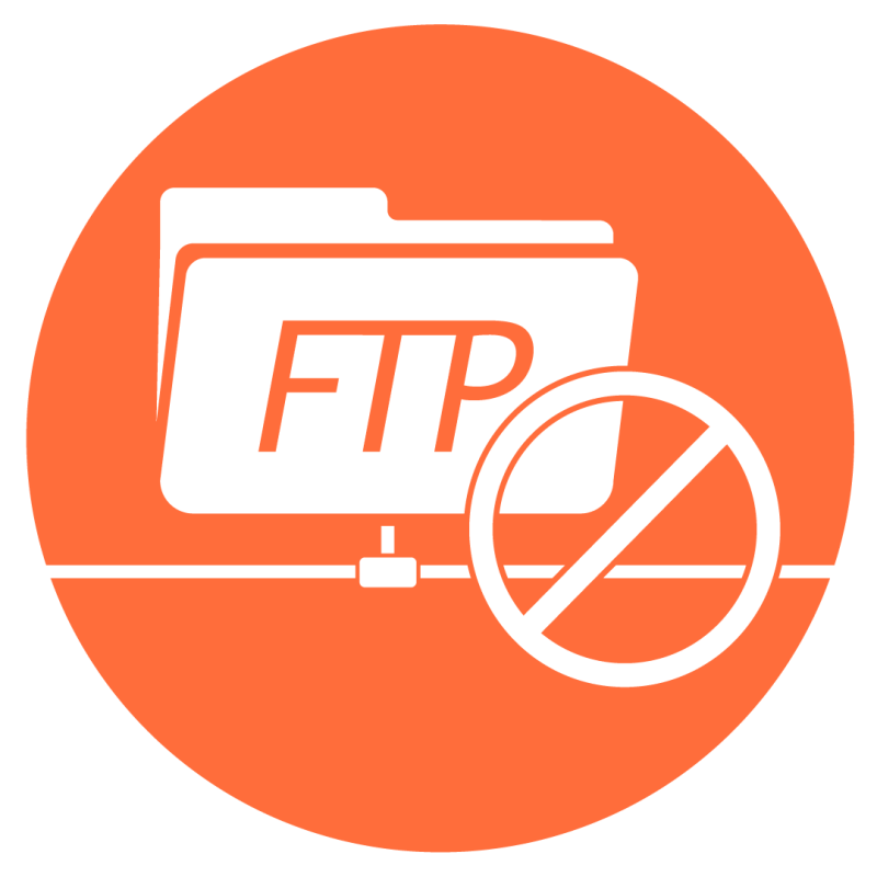 No FTP, SFTP si!
