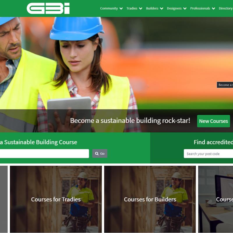 Green Building Institute site