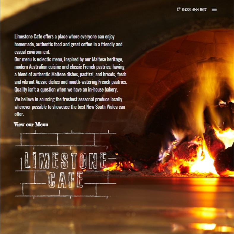 Limestone Cafe site