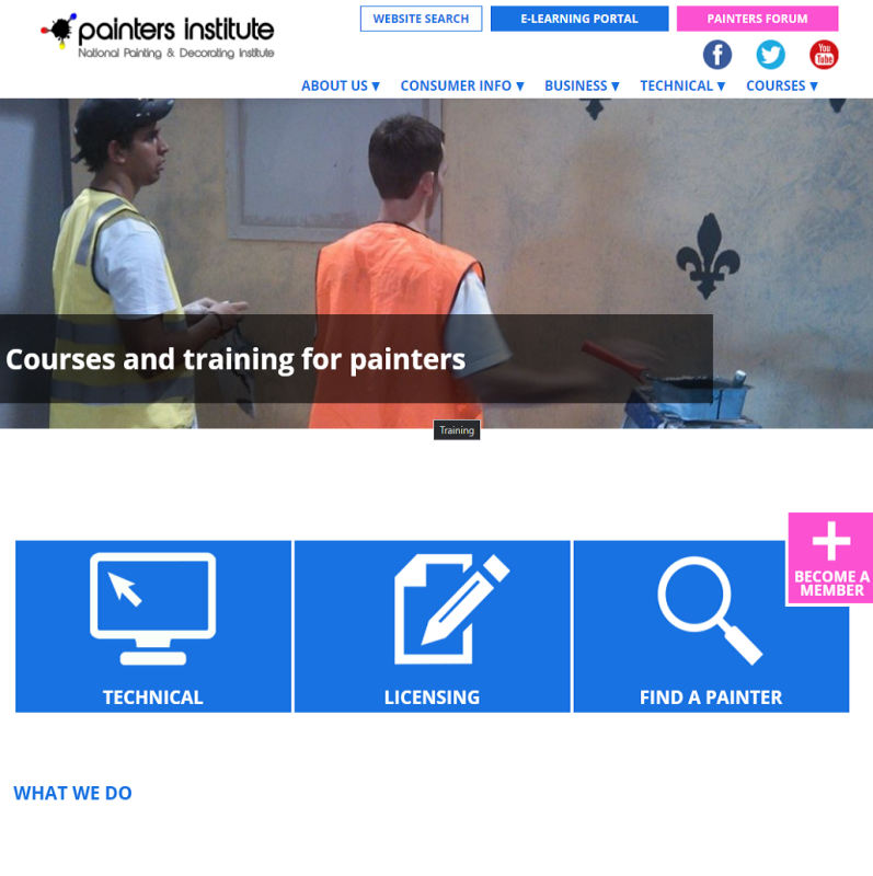 National Painting and Decorating site